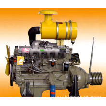 Weifang Diesel Engine R6105ZP With Clutch Pulley 120 HP